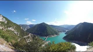 Montenegro - Stausee bei Pluzine | 360 Grad | VR | Virtual Reality