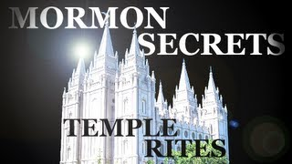 Video Mormons & Their Secret Temple Rites Exposed download MP3, 3GP, MP4, WEBM, AVI, FLV Juni 2018