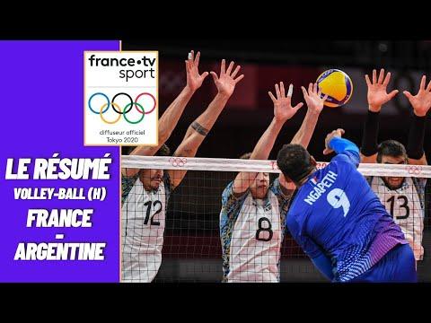 Download JO 2021 : Volley (H) 1/2 Finale : France vs Argentine - Résumé complet