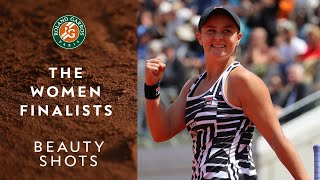 Beauty Shots #13 - The Women Finalists | Roland-Garros 2019