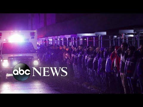 Veteran New York police detective fatally shot in crossfire