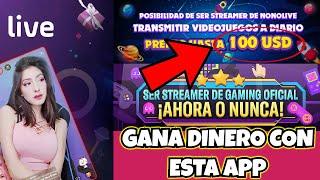 Como ganar Dinero Con Tu Celular Jugando O Chateando 100 Dolares al Mes! | Reclutamiento Nono Live screenshot 3