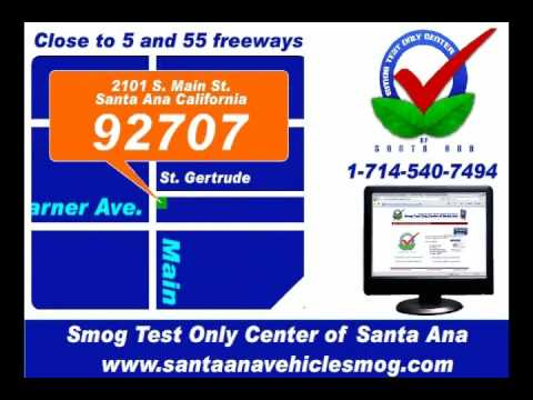 Smog Test Only Center of Santa Ana