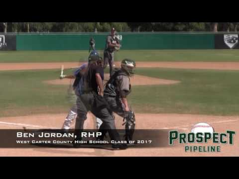 Ben Jordan Prospect Video 2, RHP, West Carter County High School Class of 2017