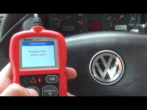 P0420 Engine Warning Light Trouble Code O2 Sensor VW Golf Mk4