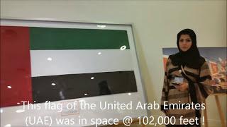 UAE flag in space by Al Hilal Bank 2017 Video