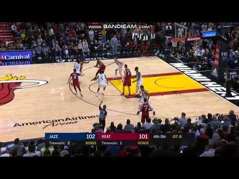 Josh Richardson Game-Winner - Miami Heat vs. Utah Jazz - NBA 07/01/2018