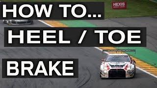 HOW TO HEEL / TOE BRAKE thumbnail