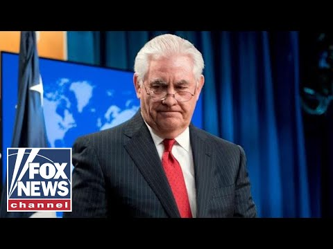 Rex Tillerson to media: President Trump called me from Air Force One