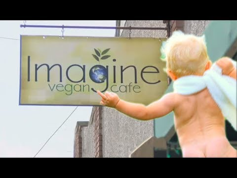 Baby Shows BUTTHOLE to Diners At Vegan Cafe | What's Trending Now!