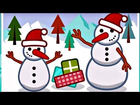 Игры для детей. ПАЗЛЫ. Про Зиму: Новый год, Снеговик, Подарки.