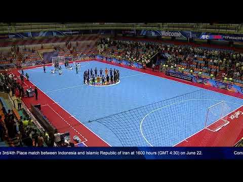 M18 - Islamic Republic of Iran vs Japan  - AFC U-20 Futsal Championship - IR Iran 2019