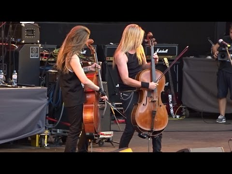 Apocalyptica - Live @ Moscow 01.08.2016