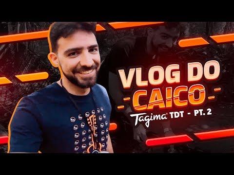 INVADIMOS O TAGIMA DREAM TEAM  2  Vlog do Caico Ep 2