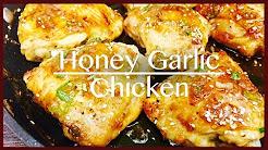 How to make Honey Garlic Chicken | The Best Chicken Recipe In 20 Minutes