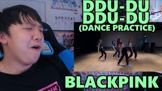 BLACKPINK - 'DDU-DU DDU-DU' [뚜두뚜두] Dance Practice Video [Moving Ver.] Reaction [MIDRIFFS!!]