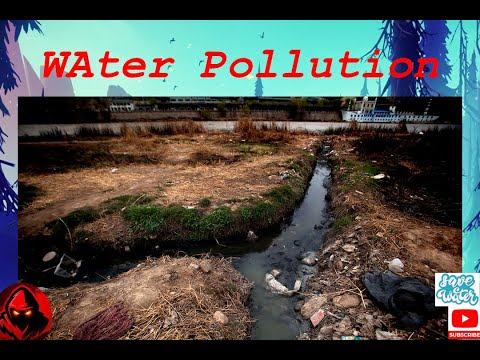 Minutes ideas about water pollution.