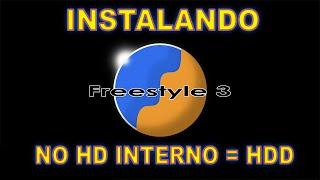 INSTALANDO A FREESTYLE.775 - NO HD INTERNO-HDD- DO XBOX360 RGH