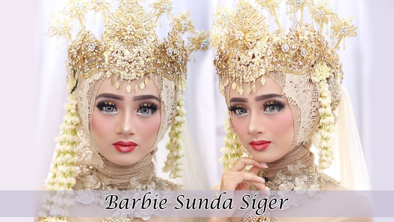 Full Tutorial Makeup Wedding Sunda Siger Muslim 2018 Terupdate