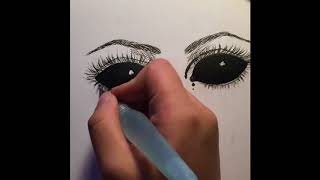 How to draw demon eyes (Tutorial)
