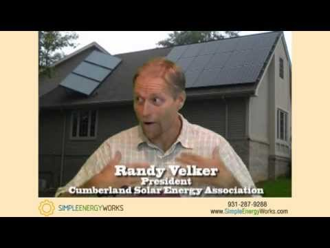 Tennessee Solar System Installations | Randy Velker | Simple Energy Works