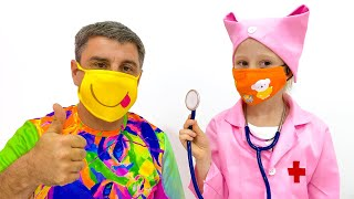 Check up song for kids by Nastya
