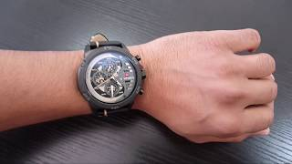 BEST NAVIFORCE LUXURY WATCH REVIEW NF9110 / UNBOXING NAVIFORCE NF 9110 RED