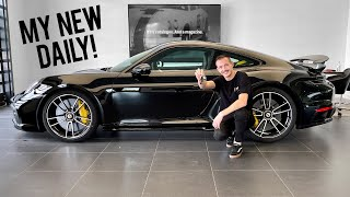 Taking Delivery of my 992 Turbo S!
