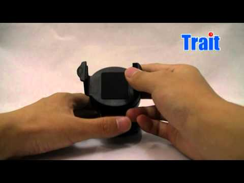 Video Of Universal Mobile Phone WindShield Mount Car Holder From Trait-tech.com