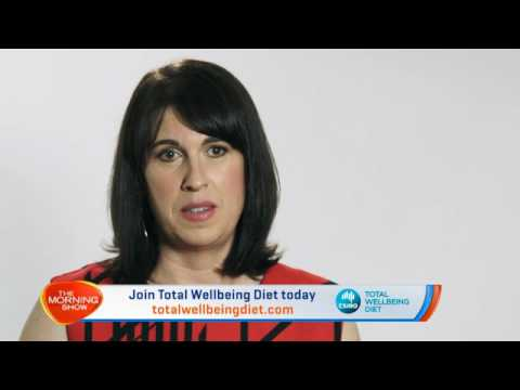 CSIRO Total Wellbeing Diet on The Morning Show