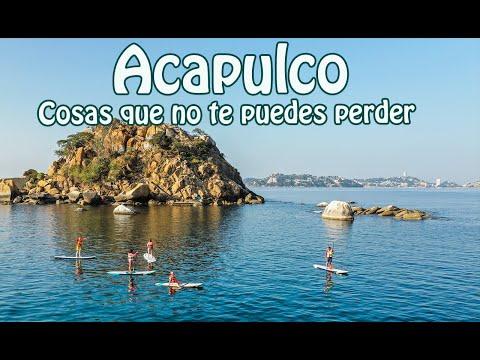 Acapulco Guerrero, las mejores cosas qué hacer en Acapulco