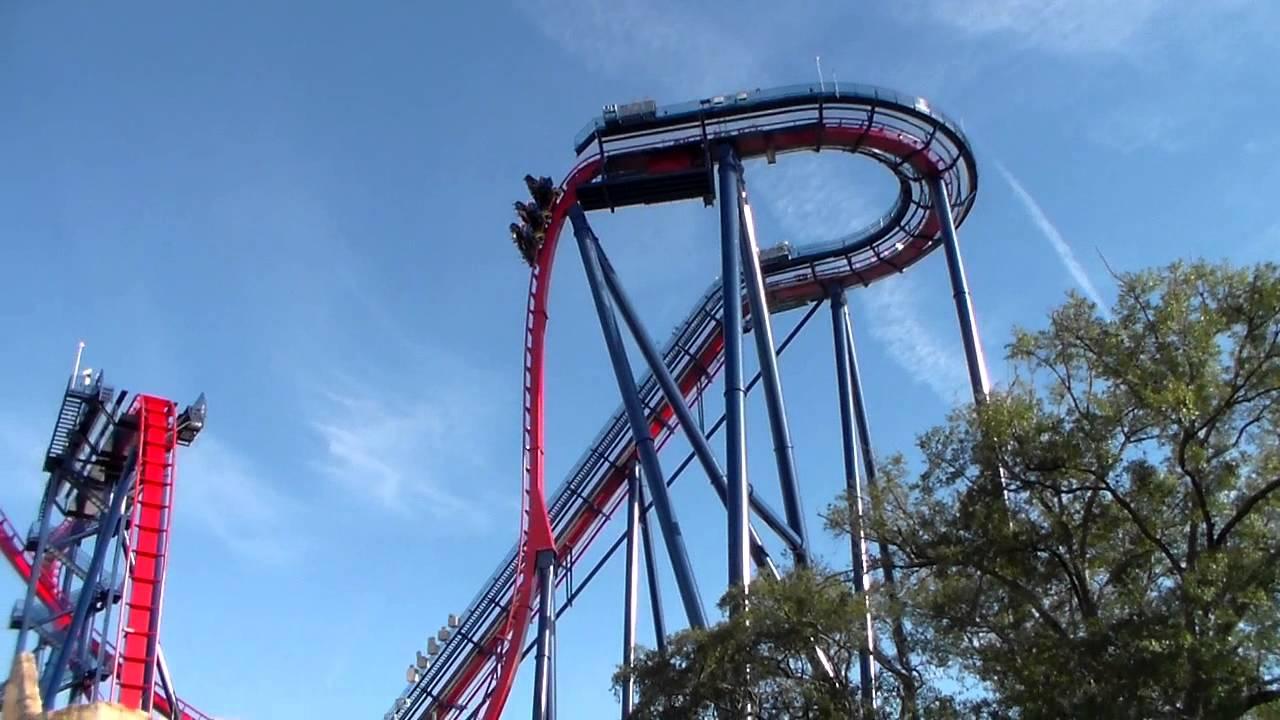 Montaña Rusa Busch Gardens Shekira Youtube
