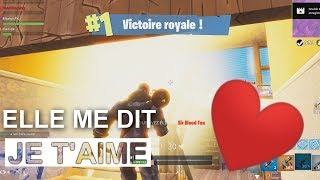 TOP 1 FORTNITE IT ME DIT [I LOVE YOU] with zanon