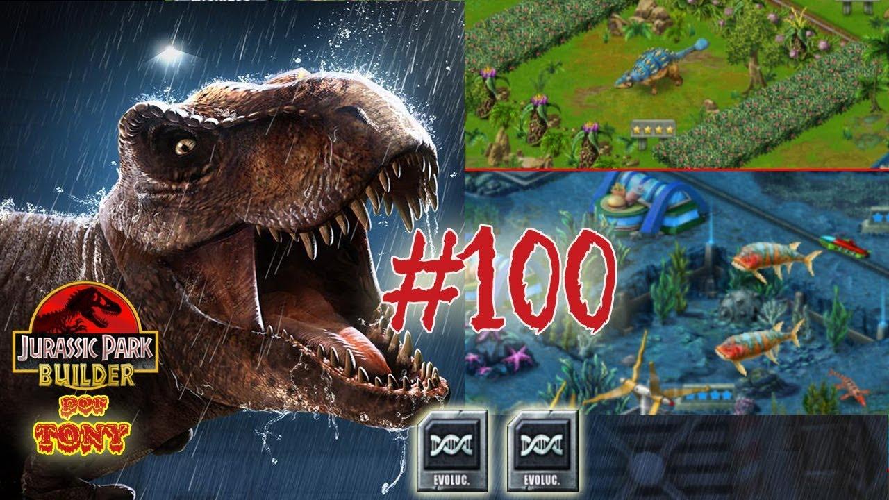 """Jurassic Park Builder """"Cap. 100 - Evolucionando y al ..."""