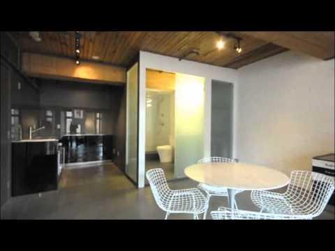 #604 41 Alexander St Video - Gastown Architectural Designer Loft