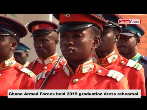 Ghana Armed Forces Hold 2019 Graduation Dress Rehearsal