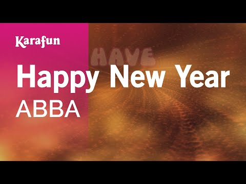 Karaoke Happy New Year - ABBA *