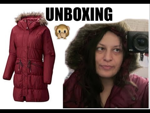 Columbia Womens Sparks Lake Long Jacket Unboxing