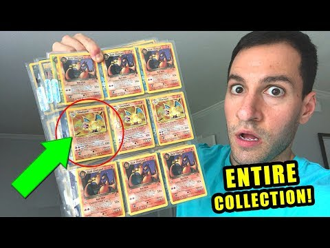 *I'M SPEECHLESS!* Crazy ULTRA RARE Charizard VINTAGE Pokemon Cards Collection Opening!