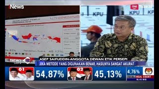 Buka-bukaan Data Survei, Asep Saefudin: Hasil Quick Count 99 Persen Akurat - iNews Sore 20/04