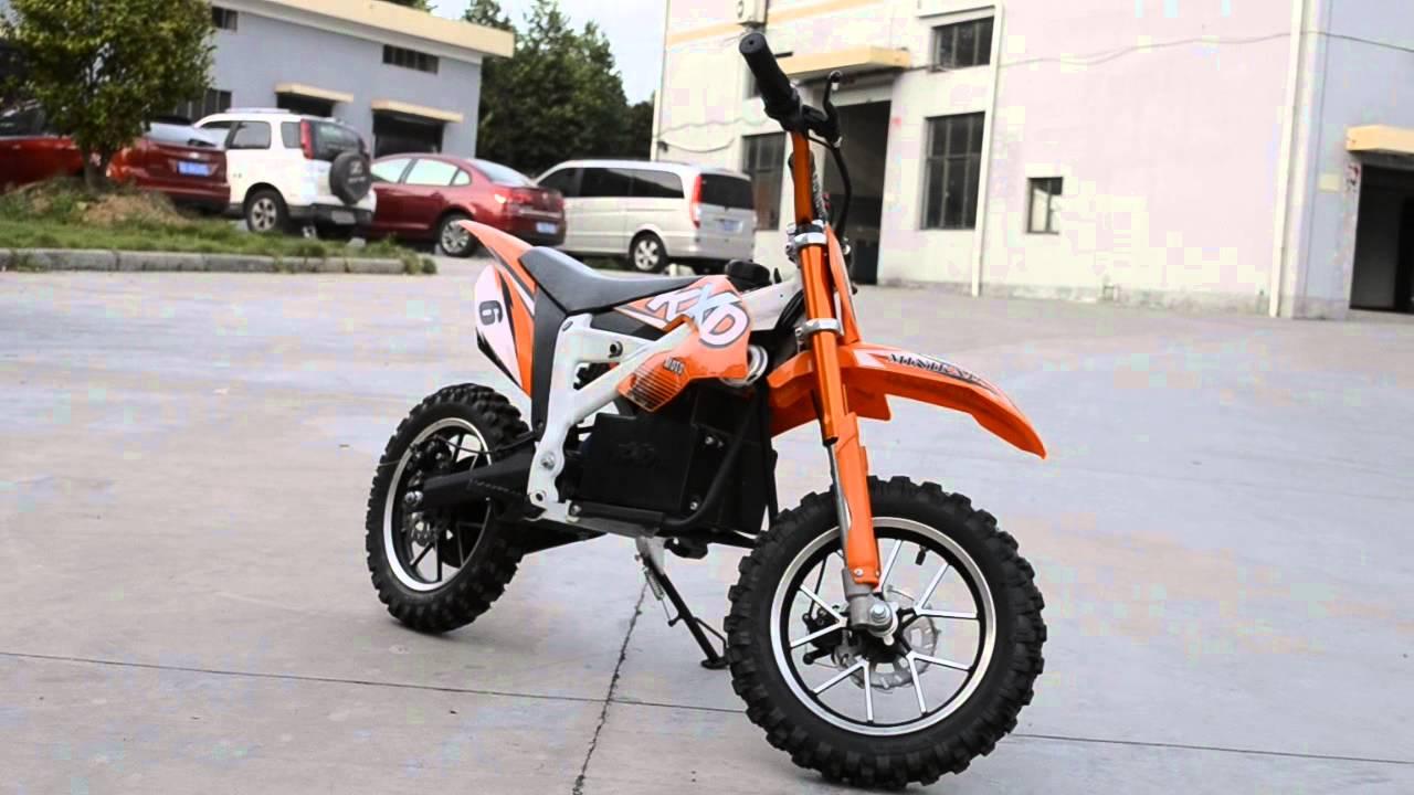 500w Electric Dirt Bike From Kxd Moto Youtube