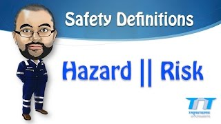 Define Risk, hazard, unsafe act & Consequence