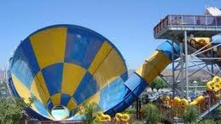 Hurricane Harbor Tornado Ride Six Flags Magic Mountain On Board Camera