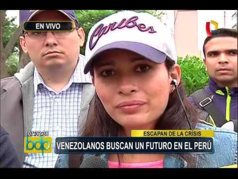 Venezolanos en Perú: buscan un mejor futuro en nuestro país
