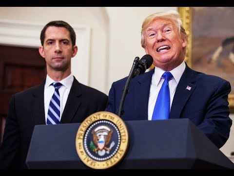 If Anyone Can Make The CIA Worse, It's Tom Cotton