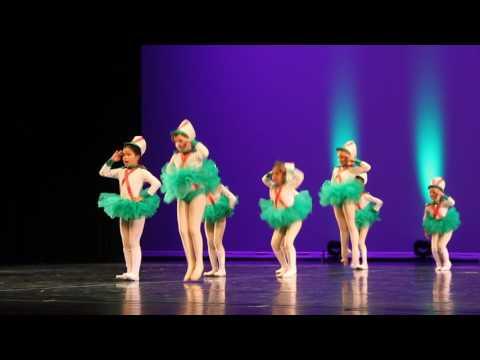 LITTLE NUTCRACKER LADIES dress rehearsal at TCU place Saskatoon, Canada