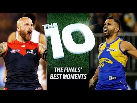 The 10: Best moments from the finals | 2018 | AFL