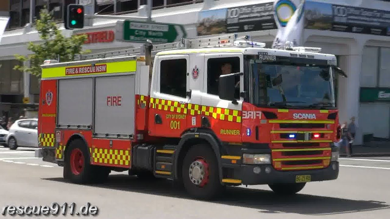 Pump Flyer 001 Pump Runner 001 City Of Sydney Fire