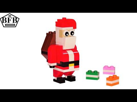 Lego Creator 30478 | Weihnachtsmann | Lego Speed Build Review