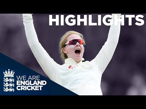 England v Australia Kia Women's Test Match | Day 1 Highlight